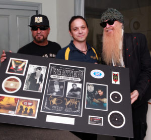 Jimmy Shine, Steve and Billy Gibbons
