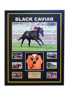black-cavair-framed-memorabilia