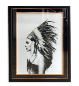 indian-black-frame