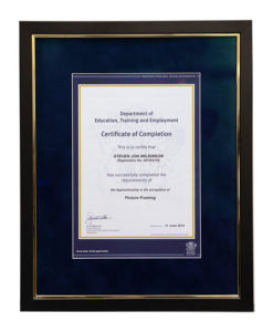 certificate-framing
