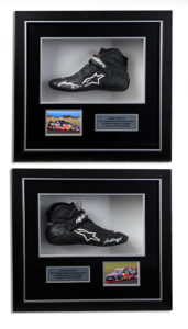 bathurst-winning-shoes-memorabilia