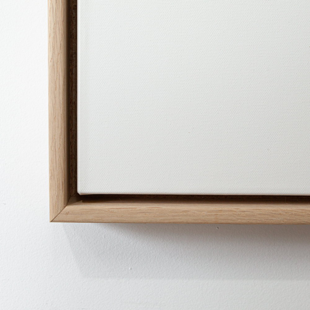 Oak Canvas Box Frame