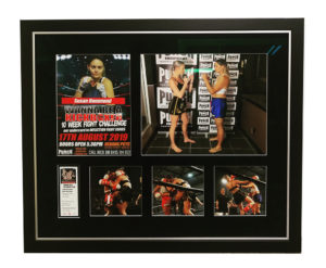 boxing memorabilia framed