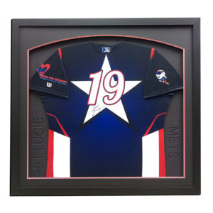 new york mets framed jersey