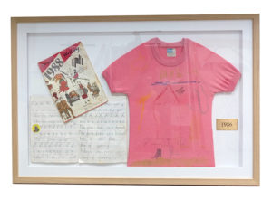 childs framed t-shirt