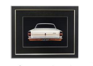 ford car framed