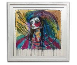 interesting art framed
